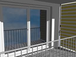 markisen fã r balkon seiten sichtschutz balkon ohne bohren carprola for
