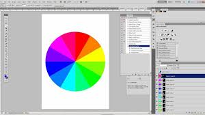 Hair Color Wheel Chart Omvt Create A Colorwheel In Photoshop In One Minute Youtube