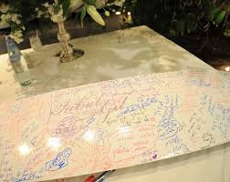 birthday signing board 18 and creative guest book ideas smashing the glass