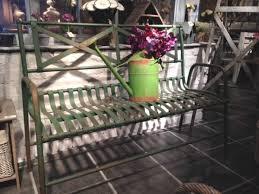 Cream Garden Bench Metal Garden Furniture U0026 Metal Conservatory Furniture