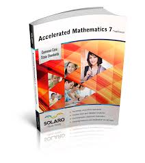 common core accelerated mathematics 7 traditional u2014 solaro com