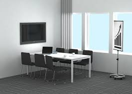 Large Boardroom Tables Contemporary Boardroom Table Wood Veneer Melamine Powder