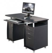 small computer desk with drawers foter