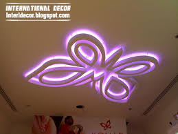 Youth Butterfly Bedrooms Modern Butterfly Ceiling Design For - Butterfly kids room