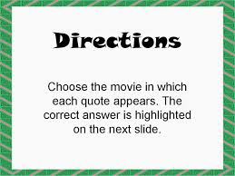 student survive 2 thrive famous christmas movie quotes trivia game