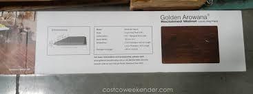 golden arowana reclaimed walnut luxury vinyl plank costco weekender