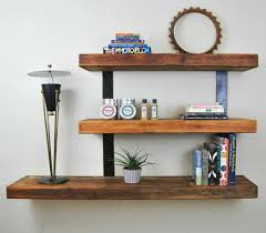 lewis hyman wall mounted white floating shelf with 2 led lights