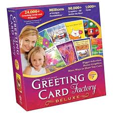 greeting card software explosion greeting card factory deluxe version 7 card design