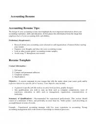 The Most Professional Resume Format The Most Brilliant Resume Format For Experienced Accountant