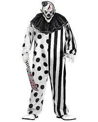 killer clown one piece costume spirithalloween com