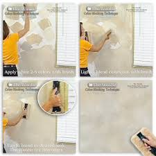 How To Faux Paint Walls Woolie Inc The Decor Faux Paint Kit 100605 Faux Finishing Kits