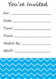 blank invitations blank party invitations 2017 thewhipper