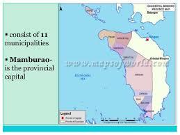 san jose mindoro map occidental and mindoro