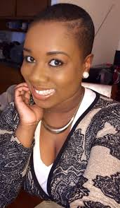 low cuts with natural hair photo black ladies fade for natural hair bald bold and rocking it
