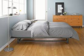 Simple Platform Bed Frame 10 Sleek Platform Beds 1000 Apartment Therapy