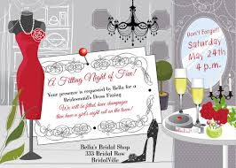 bridesmaids invite dress fitting invitation fitting party bridesmaid dress
