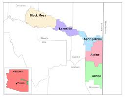 Map Of Mesa Az Apache Sitgreaves National Forests Fire Management