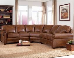 sofa leather reclining sectional small sectional red leather