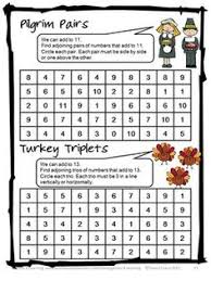 thanksgiving board game from thanksgiving math games puzzles and