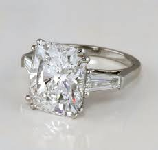 engagement rings with baguettes radiant engagement ring radiant engagement ring