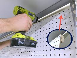 pegboard hack u0026 organizing garage shelves creatingmaryshome com