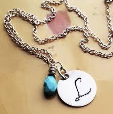 monogram jewlery personalized necklace monogram jewelry s necklace silver