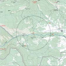 Philmont Scout Ranch Map Abreu Camp
