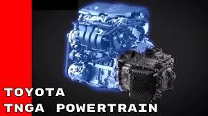 toyota global toyota new global architecture based powertrain youtube