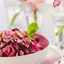 cuisine de az minceur salade de riz minceur à la betterave et au thon recette salade