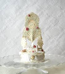 romantic wedding cake topper victorian style centerpiece