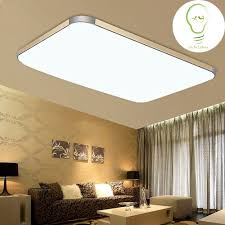 popular modern led ceiling lamp square buy cheap modern led