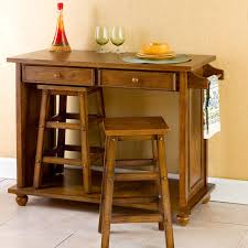 movable kitchen island with breakfast bar portable kitchen island with stools size of light brown