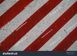 Red And White Flag With A Cross Red White Lines Across Limit Do Stock Photo 726030418 Shutterstock