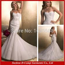 wedding dresses made to order free shipping wd 1353 strapless lace mermaid wedding dress