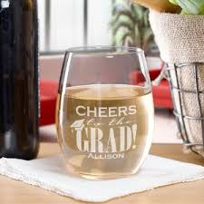 graduation wine glasses personalized wine glasses gifts for you now