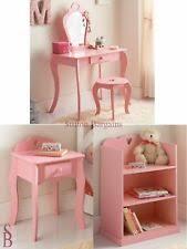 Pink Vanity Table Children U0027s Dressing Tables Ebay