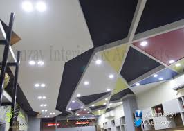 aenzay office u2013 ceiling design aenzay interiors u0026 architecture