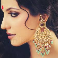 big ear rings best 25 indian earrings ideas on indian jewelry