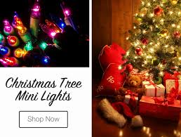 miniature christmas tree lights how many lights should i put on my christmas tree
