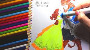 beauty beast 2017 coloring book belle beauty