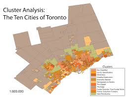 Map Of Toronto Canada by Mapping The Megacity