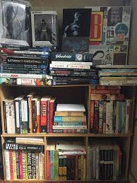 Batman Bookcase Shelfwalking Although Of Course You End Up Becoming Yourself