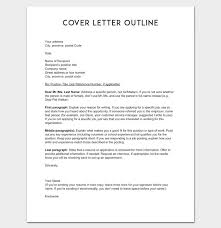 outline of cover letter 2017 resume cover letter not sure how to
