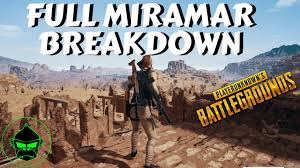 pubg miramar pubg miramar in detail gameplay patch notes pubg
