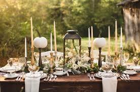 bougeoir mariage décoration de mariage d automne en 80 idées originales