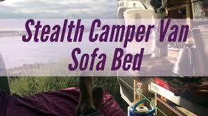 Sofa Bed Anak Murah Stealth Camper Van Sofa Bed Sofa Murah