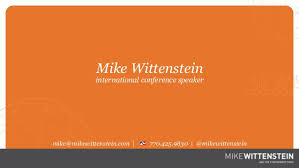 speaker bureau mike wittenstein international conference speaker bureau deck