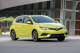 scion yellow 2016 scion im review lowrider