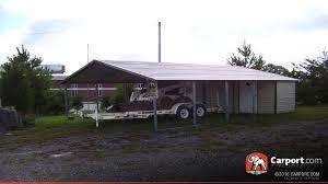 Carport Attached To House Steel Utility Carport 20 U0027 X 31 U0027 X 8 U0027 Clearance Carport Com Sales
