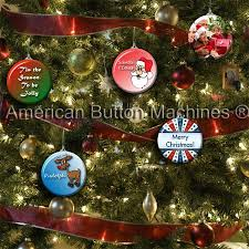 when the weather outside is frightful button ornaments are